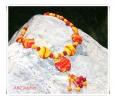 Feuer des Sommers - Halskette